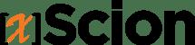 xScion Logo-black-orangeX-60px